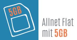 Allnet Flat mit 5 GB Datenvolumen im Vergleich
