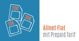Allnet Flat mit Prepaid Tarif