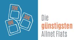 Die günstigsten Allnet Flats in Deutschland