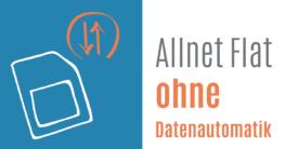 Allnet Flat ohne Datenautomatik