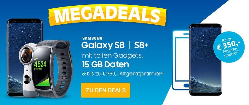 Samsung Galaxy S8 Mega Deals