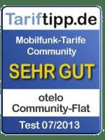 Tariftipp Bewertung für Otelo