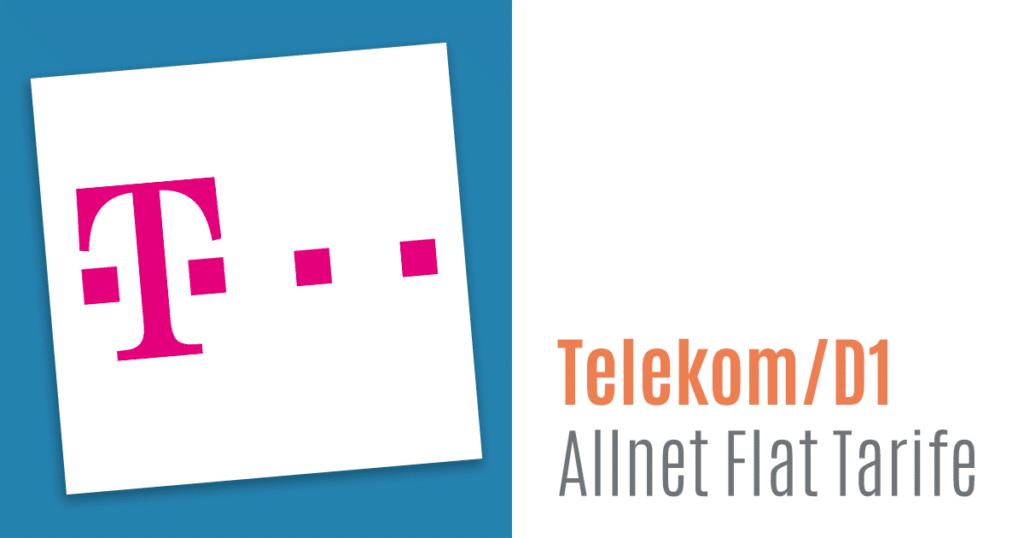 D1 Allnet Flat Tarife Und Provider Im Telekom Netz Hier Klicken